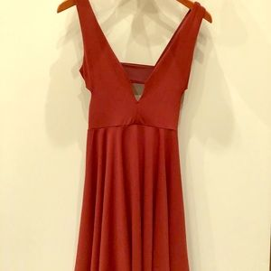 NWT Rust/Terracotta Urban Outfitters Dress